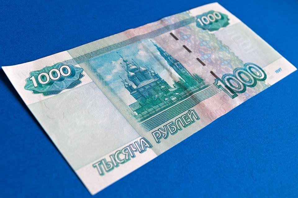 tisíc rublů