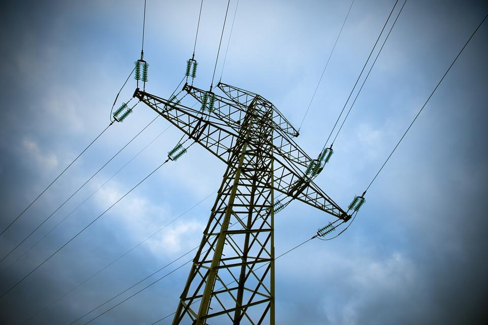 vedení elektřiny